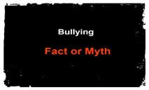 Bullying-Indiana PowerPoint Presentation