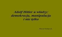 Adolf Hitler History PowerPoint Presentation