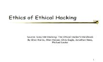 Ethics of Ethical Hacking PowerPoint Presentation