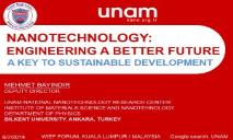 nanotechnology PowerPoint Presentation