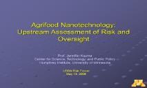 Agrifood Nanotechnology PowerPoint Presentation
