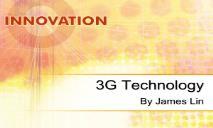 3G Technology PowerPoint Presentation
