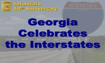 Interstate 50th Anniversary PowerPoint Presentation