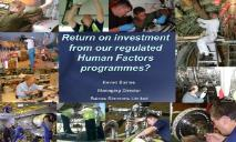 Return on investments PowerPoint Presentation