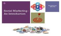 Social Marketing-SM PowerPoint Presentation