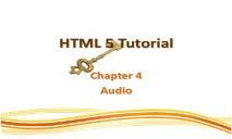 HTML 5 Tutorials PowerPoint Presentation