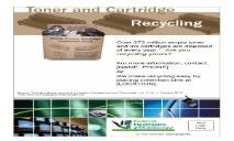 Toner and Ink Cartridge Recycling PowerPoint Presentation
