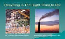Curbside Recycling Program PowerPoint Presentation