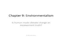 About Environmentalism PowerPoint Presentation