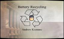 Battery Recycling PowerPoint Presentation
