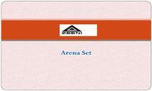 Arena Set PowerPoint Presentation