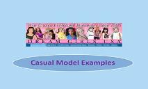 Casual Model Examples PowerPoint Presentation