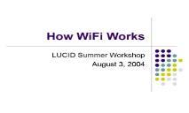 How WiFi Works PowerPoint Presentation