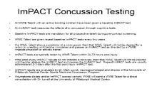 WWE ImPACT Testing PowerPoint Presentation
