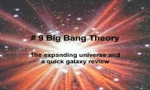About Big Bang Theory PowerPoint Presentation