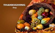 THANKSGIVING DAY PowerPoint Presentation