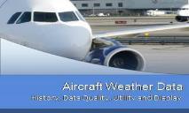 Aircraft Weather Data PowerPoint Presentation