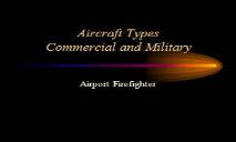 Aircraft Types Commercial and Military PowerPoint Presentation