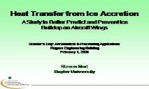 Aircraft Icing PowerPoint Presentation