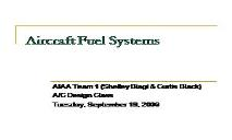 Aircraft Fuel Systems PowerPoint Presentation