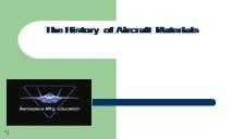 The History of Aircraft Materials PowerPoint Presentation
