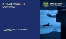Airport Planning Overview PowerPoint Presentation