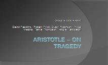 An Aristotle PowerPoint Presentation
