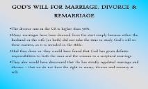 MARRIAGE DIVORCE REMARRIAGE FOREST HILLS CHURCH OF CHRIST PowerPoint Presentation