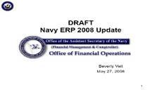 PDI Navy ERP Brief United States Navy PowerPoint Presentation