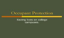 Occupant Protection Buckle Up Illinois PowerPoint Presentation