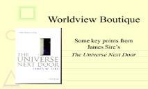Worldview Boutique Southern Nazarene University PowerPoint Presentation