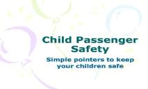 Child Passenger Safety Buckle Up Illinois Home PowerPoint Presentation