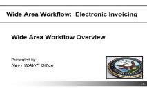 WAWF Overview Slides United States Navy PowerPoint Presentation