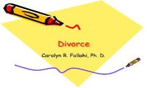 Divorce PowerPoint Presentation