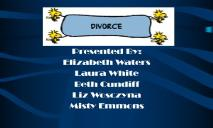 Divorce Appalachian State University PowerPoint Presentation