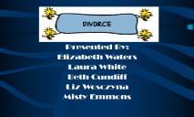 Divorce Appalachian State University PowerPoint Presentation