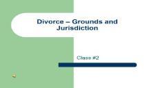 Divorce Basic Information PowerPoint Presentation