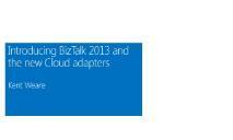 BizTalk 2013 and Cloud Adapters PowerPoint Presentation