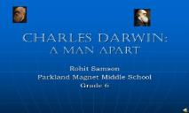 Charles Darwin A Man Apart Home PowerPoint Presentation