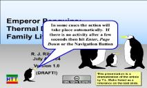 Emperor Penguins and Thermal Design PowerPoint Presentation