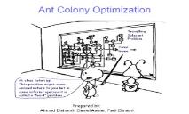 Ant Colony Optimization Students PowerPoint Presentation
