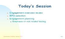 BPO Selection Audit Preparation PowerPoint Presentation