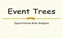 Event Trees Missouri University of Science and Technology PowerPoint Presentation