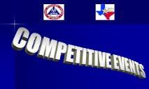 Competitive Events Program HOSA TA PowerPoint Presentation