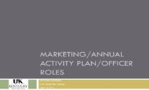 Event Planning Annual Plan Club Officer Roles PowerPoint Presentation