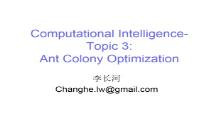 Ant Colony Optimization PowerPoint Presentation