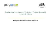 Pricing Carbon Carbon Emission Trading Potential in South PowerPoint Presentation