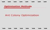 Learn About Ant Colony Optimization PowerPoint Presentation