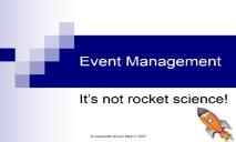 Event Management National Association of Civic Officers PowerPoint Presentation