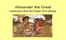 Alexander the Great PowerPoint Presentation